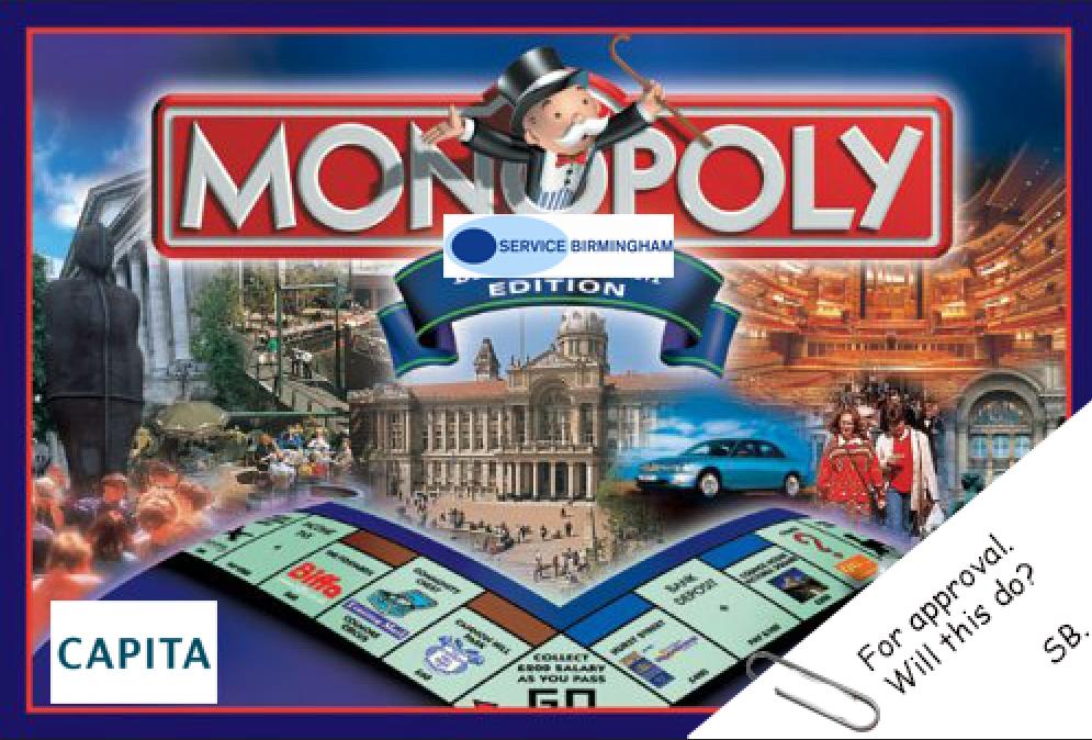 Service Birmingham Monopoly