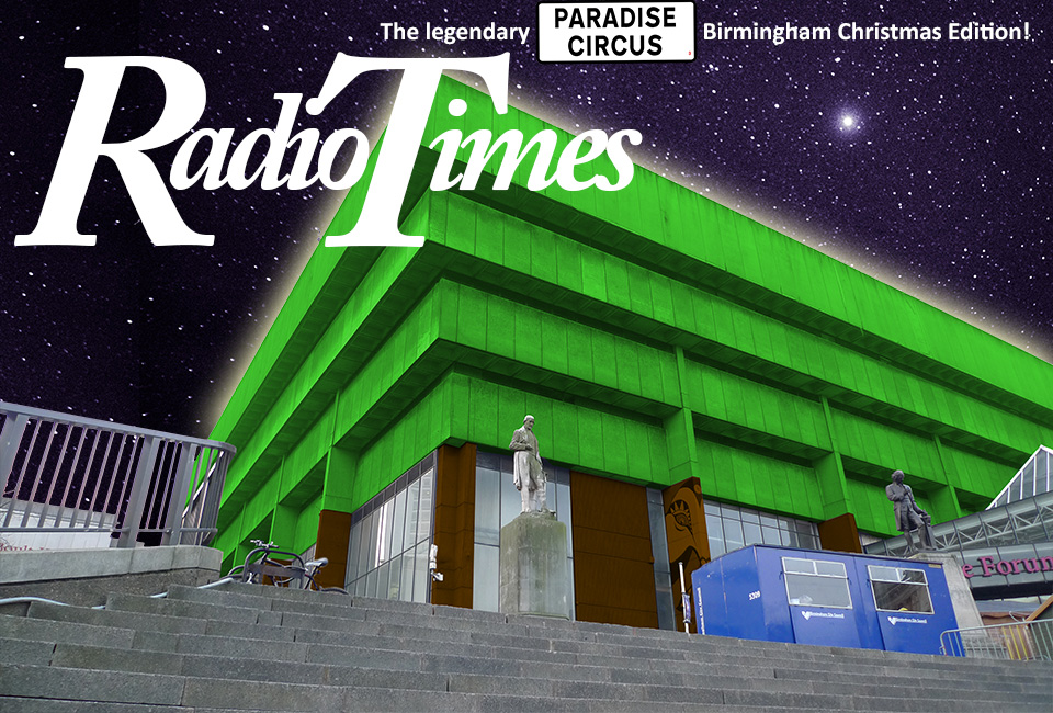 Paradise Circus Christmas 2013 Graphic