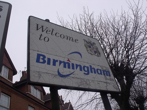 Welcome to Birmingham (you're leaving Bearwood)