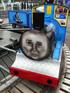 Scariest little tank engine ever