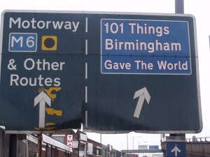 Pre-order 101 Things Birmingham Gave the World: the Book now