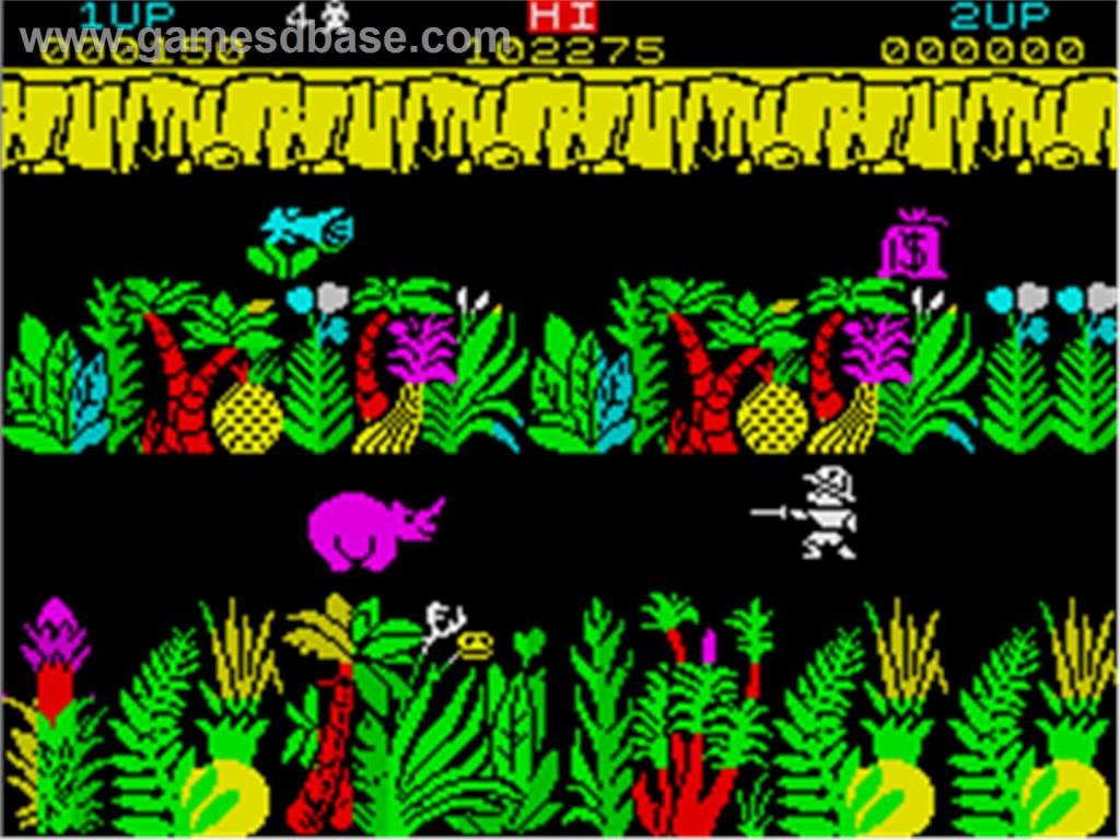 Sabre Wulf, ZX Spectrum.