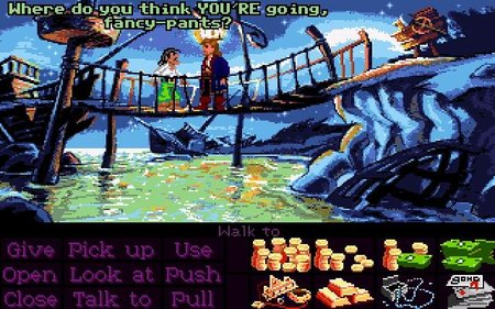 Monkey Island 2, Atari ST. They talk like this down the Villa, you know.
