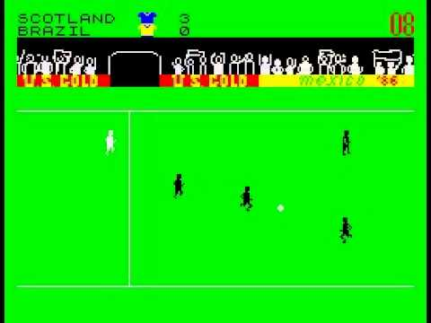 World Cup Carnival, ZX Spectrum.  Very realistic.