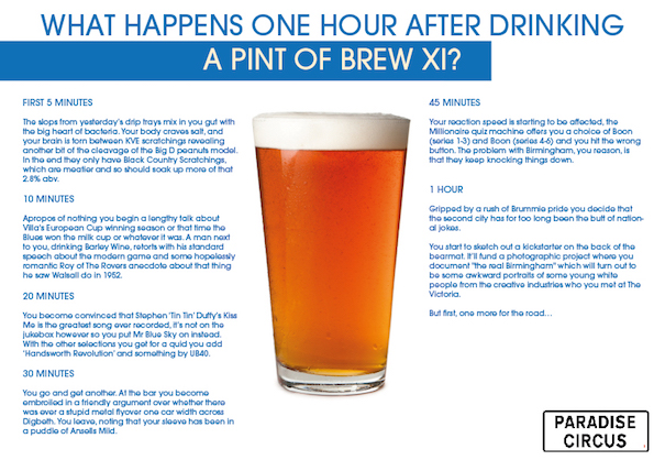 Brew xi Infographic